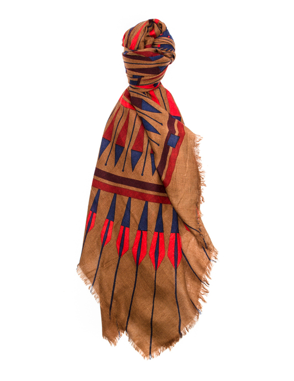 A Peace Treaty Oglron Scarf In Sand