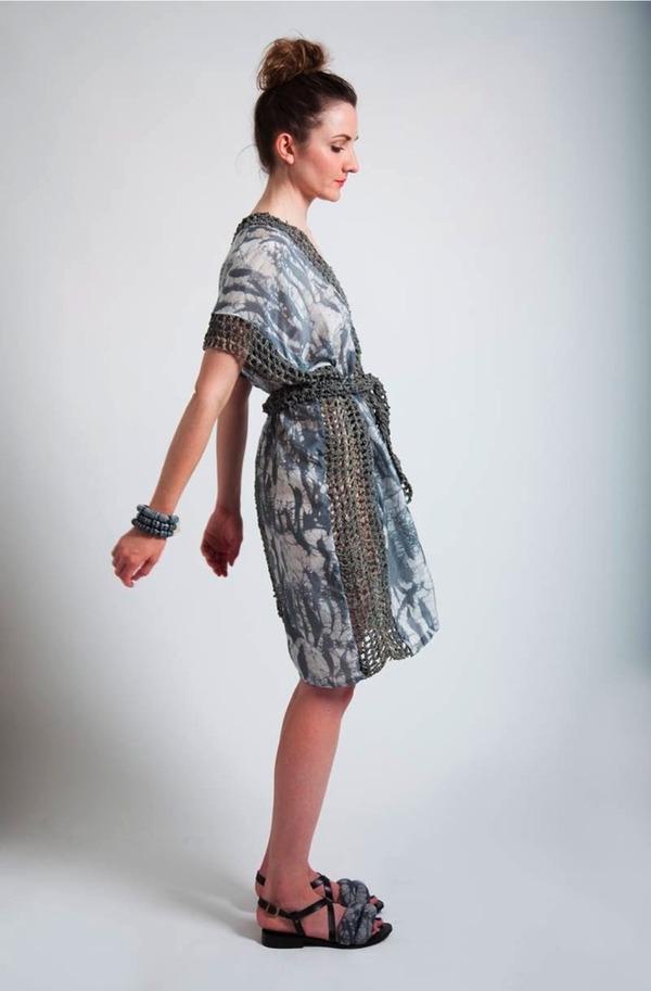 Crochet Panel Dress