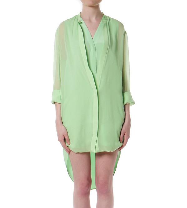 3.1 Phillip Lim Loop Hem Layered Shirt Dress