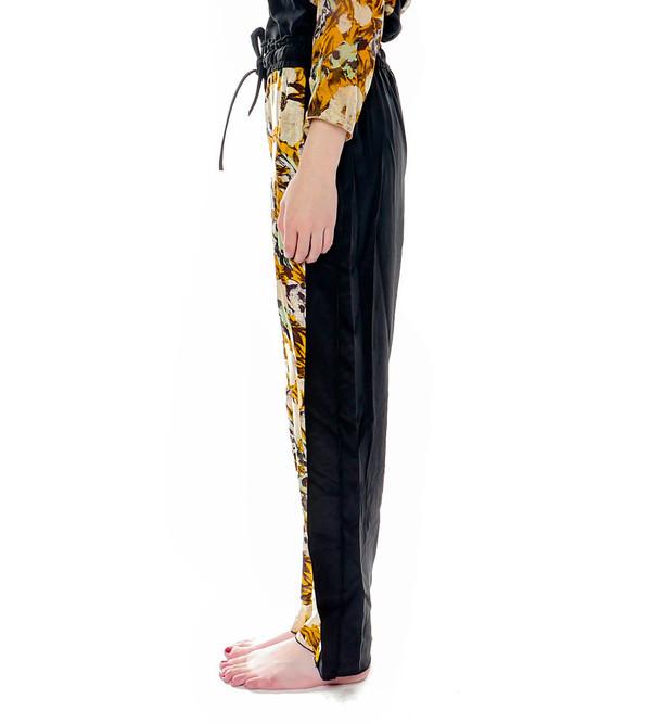 Raquel Allegra Silk Printed Pants