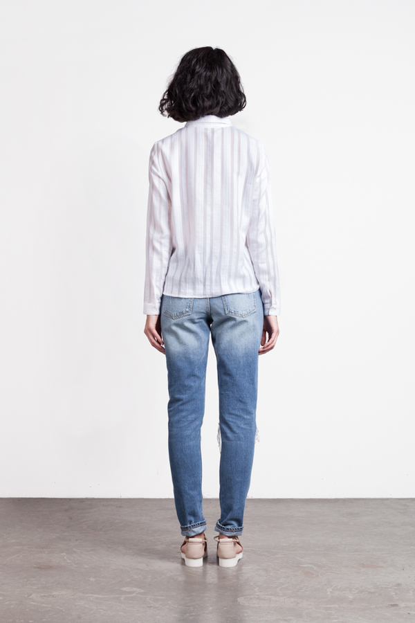 Rodebjer Hathaway Weave Blouse