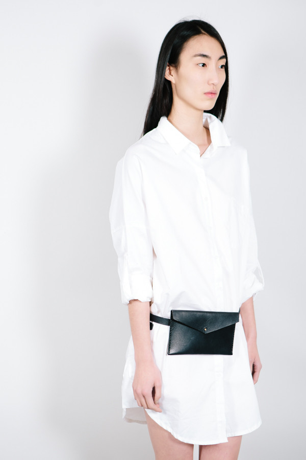 Solid Mfg. Co Leather Waist Pack
