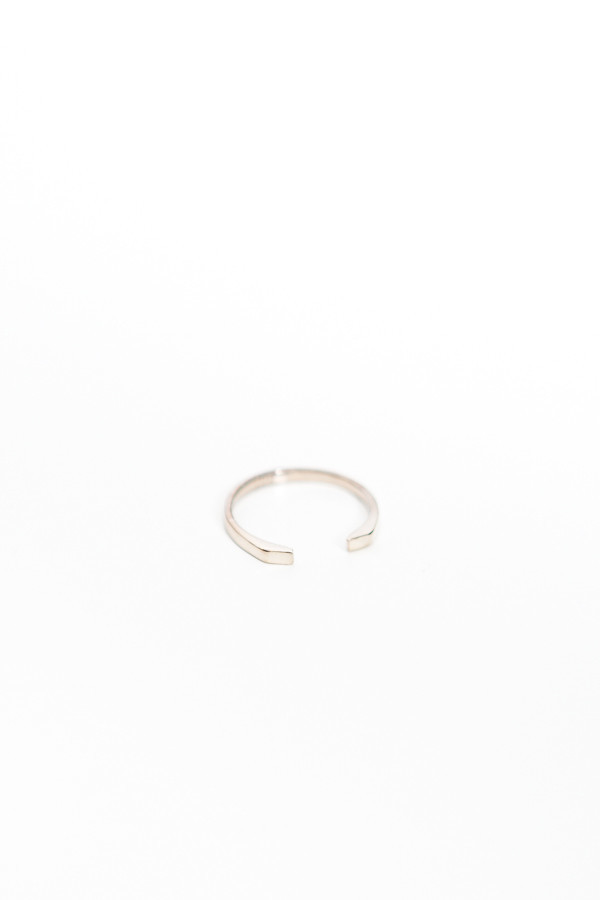 Upper Metal Class Presence Cuff Ring