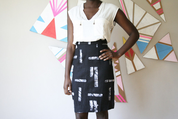 Osei-Duro Graphis Skirt
