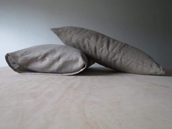 Lissu Linen Pillowcase Set - Natural