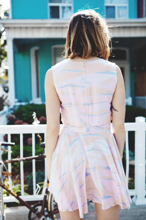 Samantha Pleet Strata Dress | Landscape