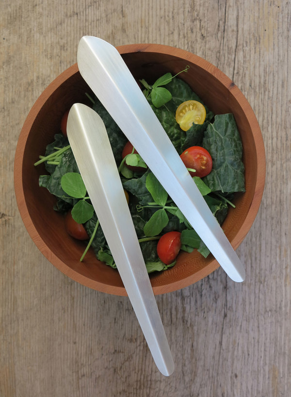Cumulus Project Salad Servers - Silver