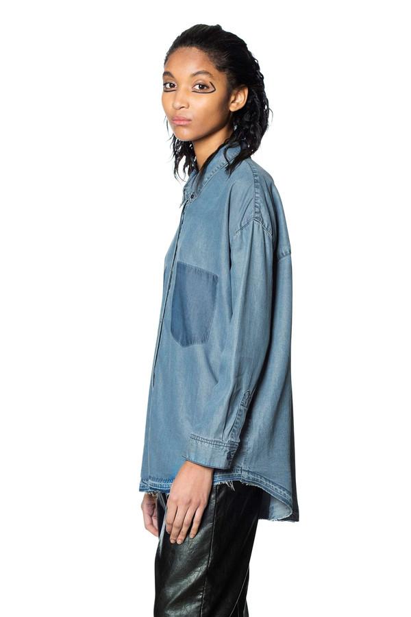 Cheap Monday Luv Blue Shirt