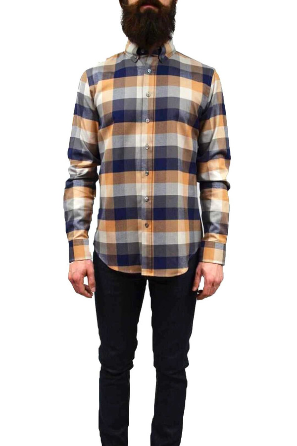 Men's Outclass Herringbone Check Flannel