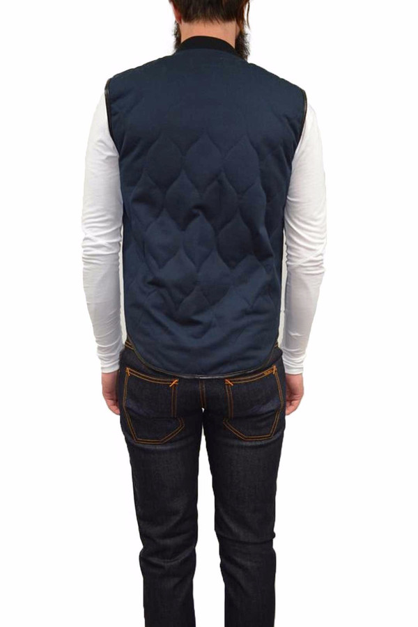 Dickies Construct QUILTED VEST I NAVY