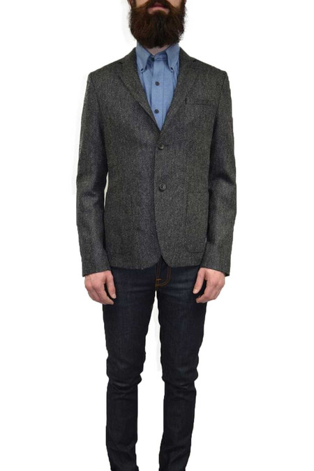 United Stock Dry Goods Tweed Sport Jacket | Charcoal