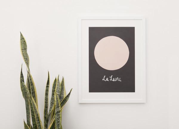The Adventures Of... La Lune Print