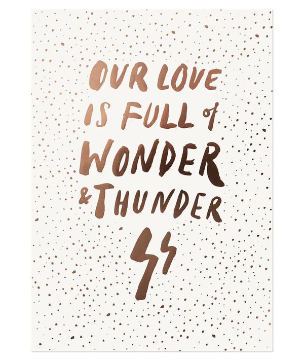 The Adventures Of... Wonder + Thunder Print