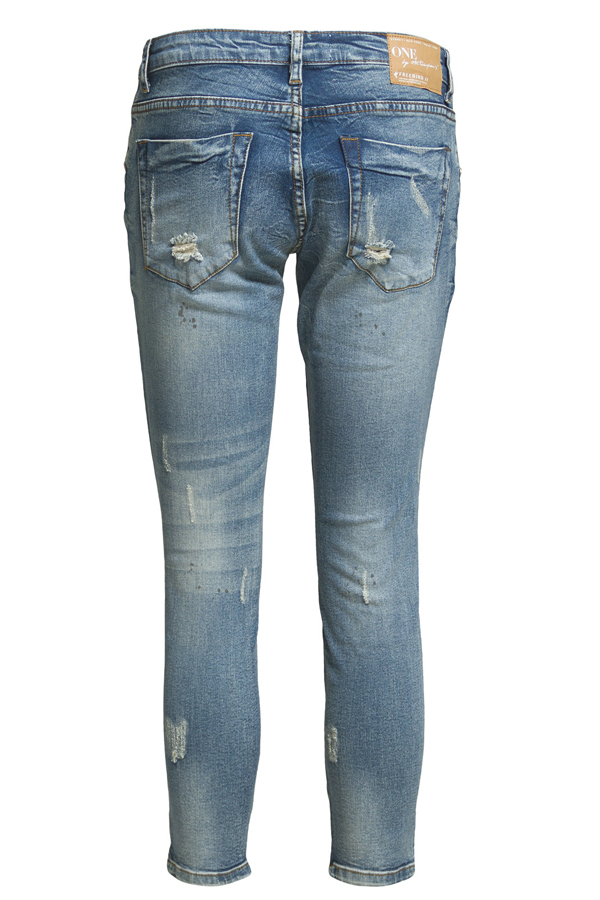 ONE TEASPOON Freebird Jeans- Blue Blonde