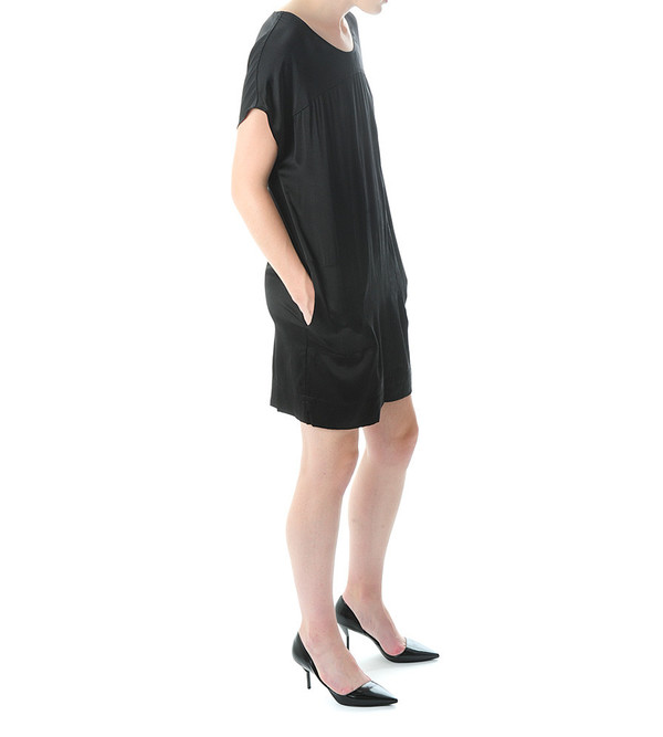 Raquel Allegra Silk Boxy Dress
