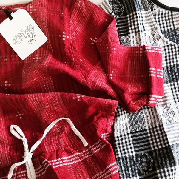 ACE & JIG LAKE DRESS - CARDINAL