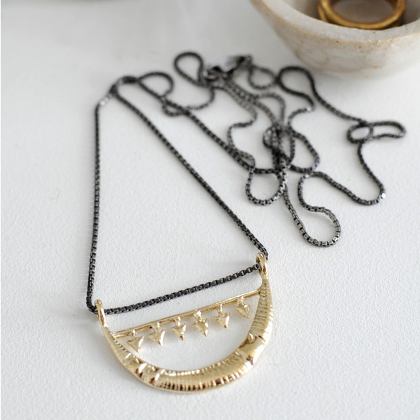 MOON & ARROW NECKLACE