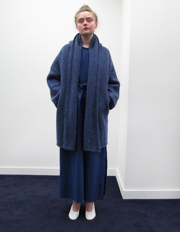 Lauren Manoogian Capote Coat, Denim