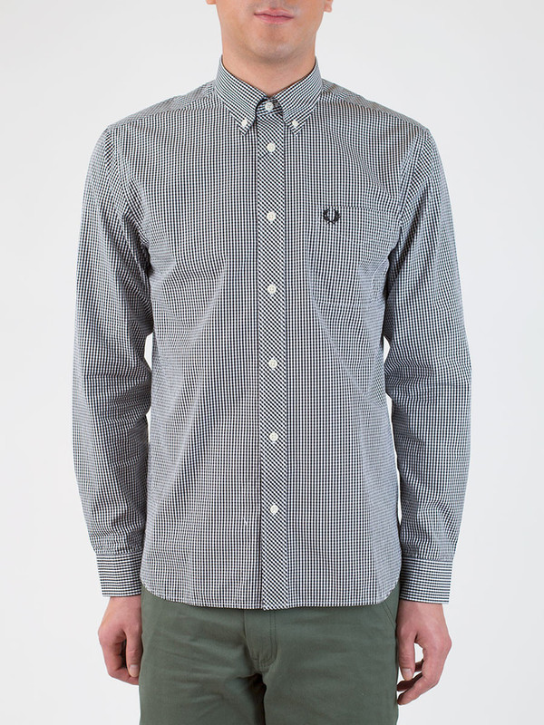 Men's Fred Perry Gingham Shirt
