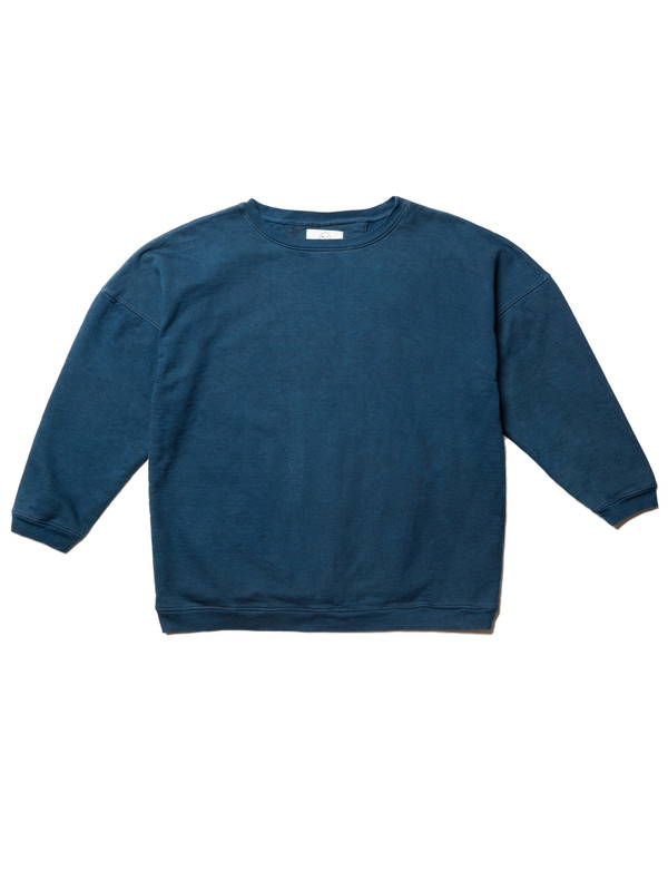 Olderbrother Anti-fit OB Crew | Indigo Plus