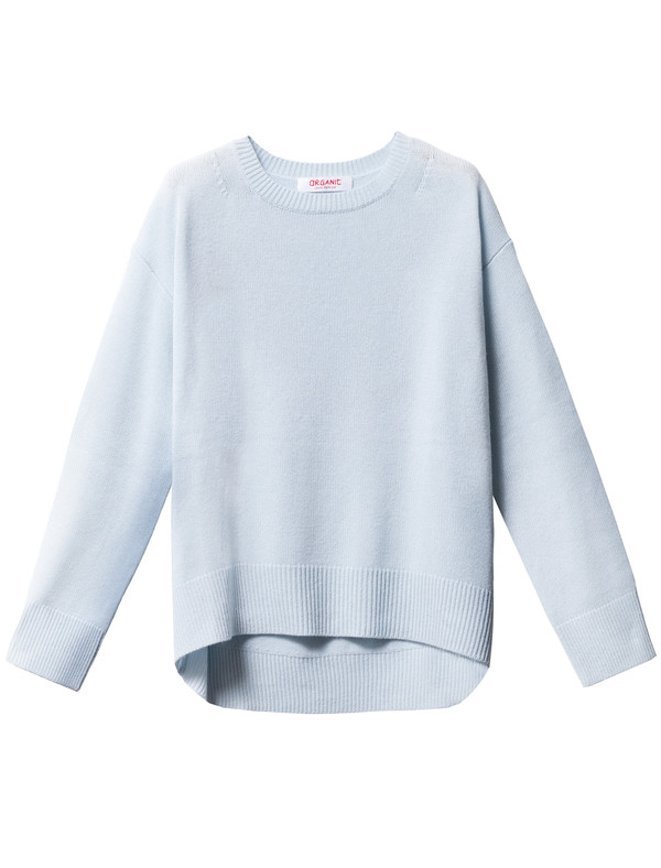 Organic by John Patrick Potato Sweater Sky Blue
