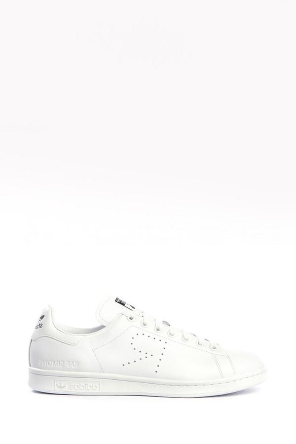 Unisex Adidas x Raf Simons White Stan Smith Sneaker