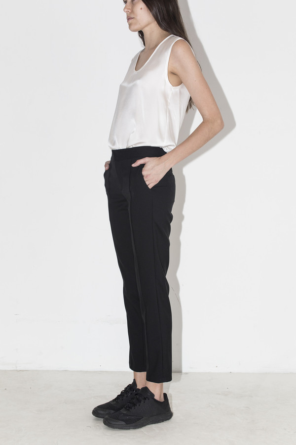 Assembly New York Black Suiting Cropped Pants
