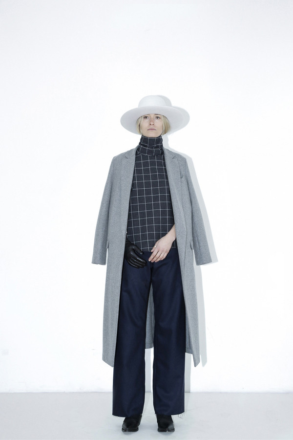 Assembly New York Grey Long Coat