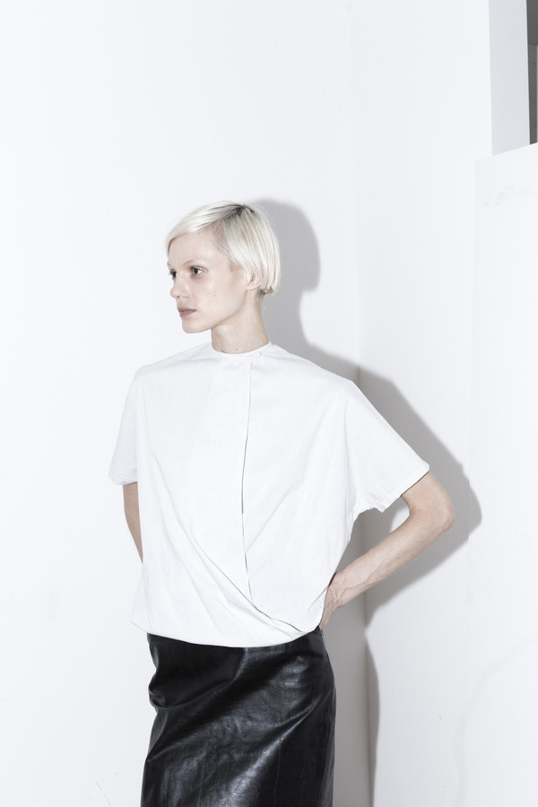 Assembly New York Pinstripe Twist Top