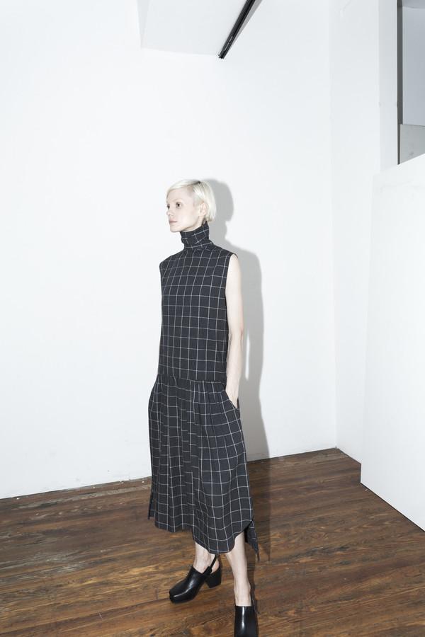Assembly New York Plaid Pleat Dress