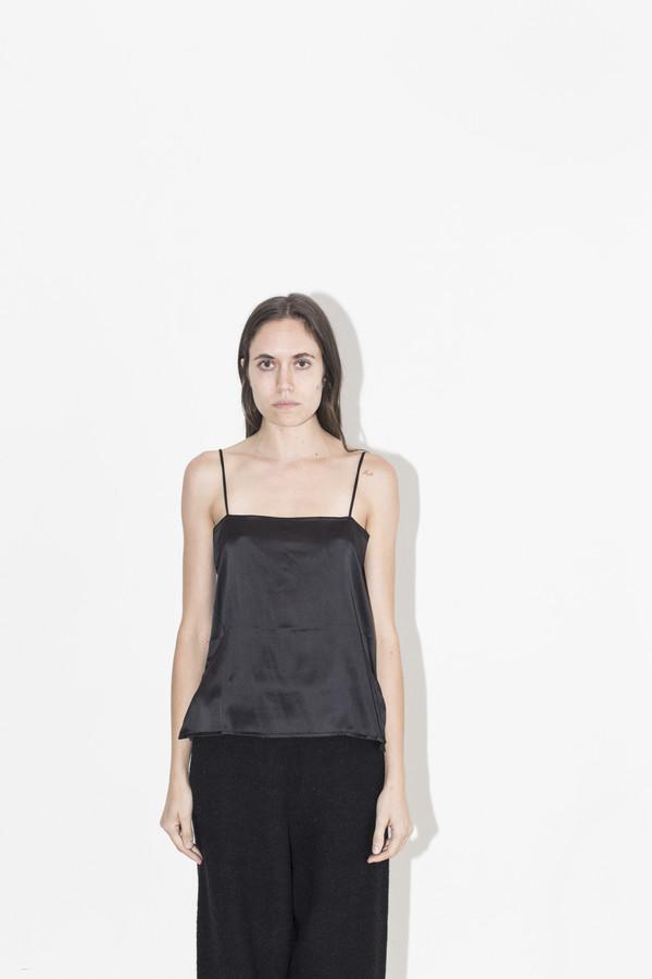 Baserange Black Silk Camisole