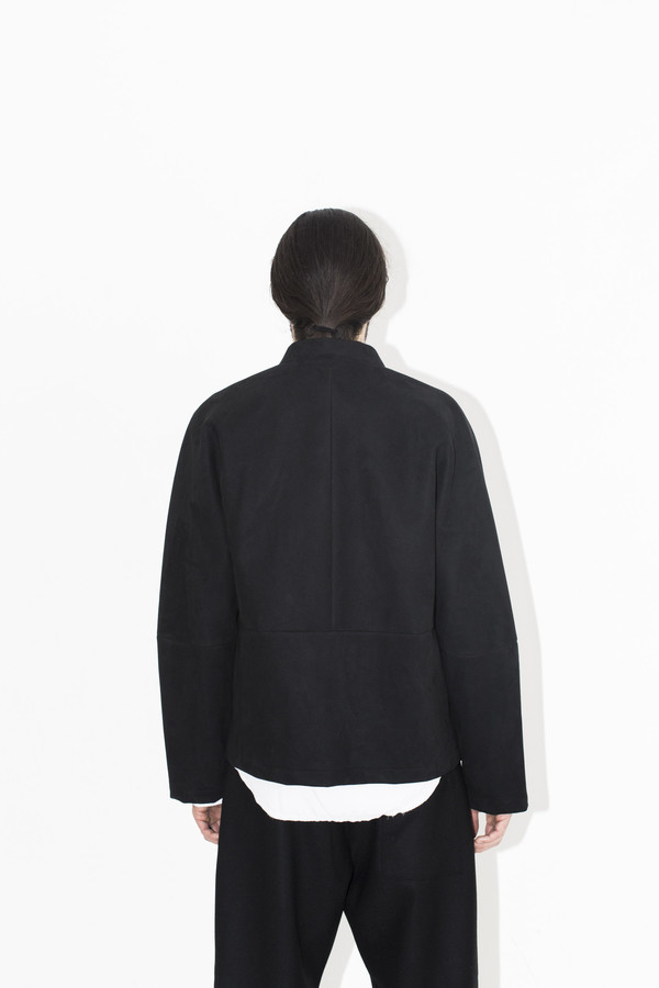 Men's Berthold Engineered Suede Jacket