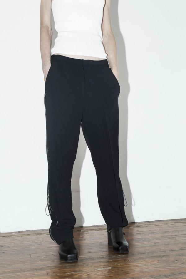 C.F. Goldman Black Zip Pant
