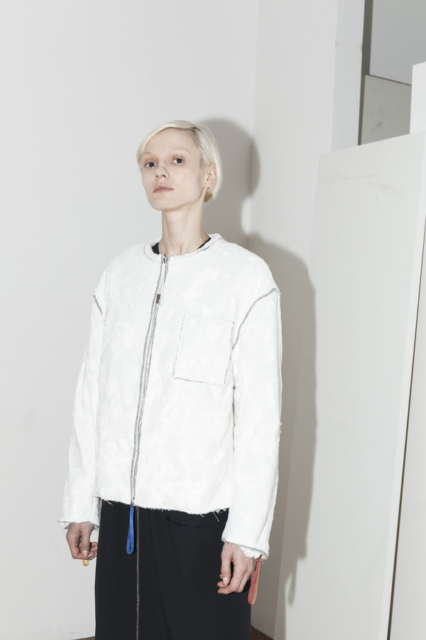 C.F. Goldman Grey Art Jacket