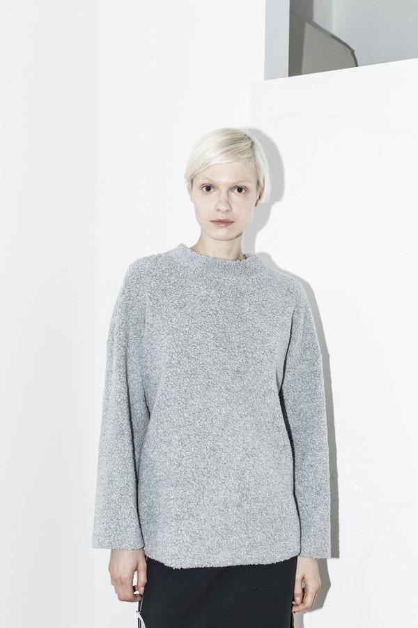 C.F. Goldman Grey Oversized Sweater