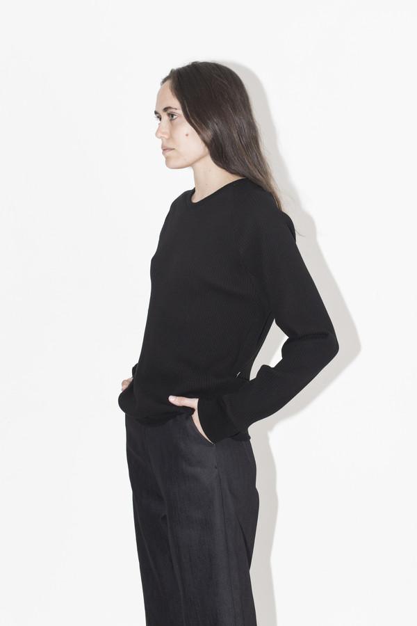 David Michael Black Sweater Girl Top