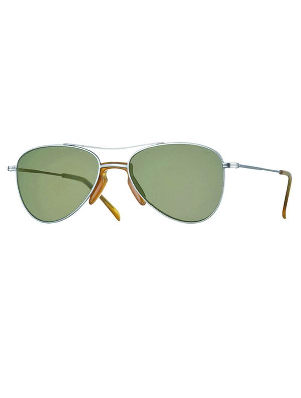Unisex Eyevan7285 713-E Aviator Sunglasses