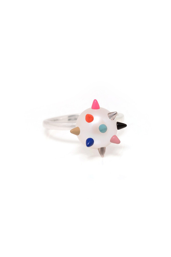 Nektar De Stagni Color Spike Pearl Ring