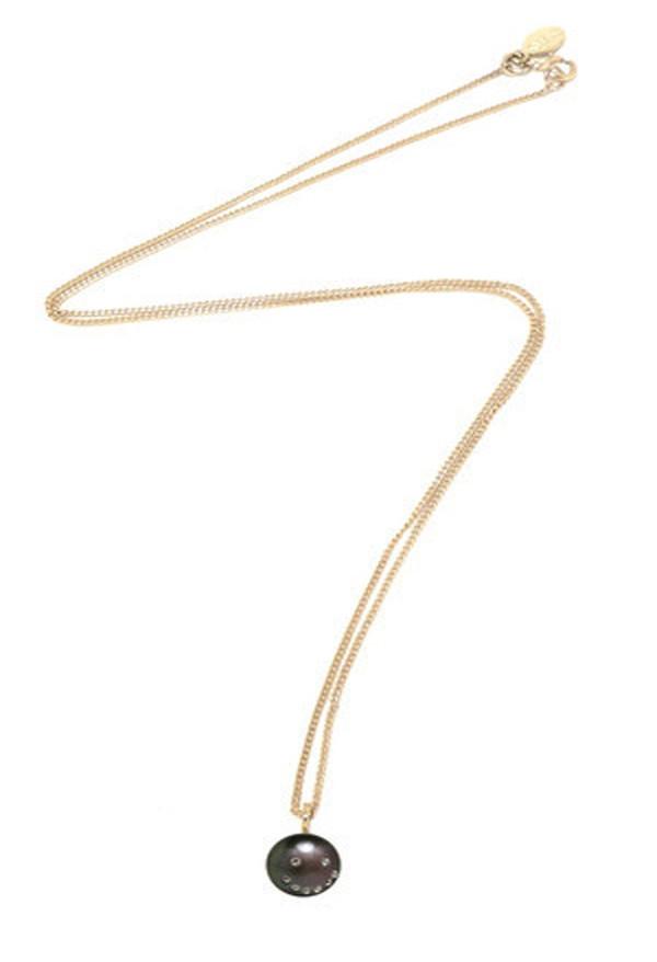 Nektar De Stagni Peacock Pearl Pendant