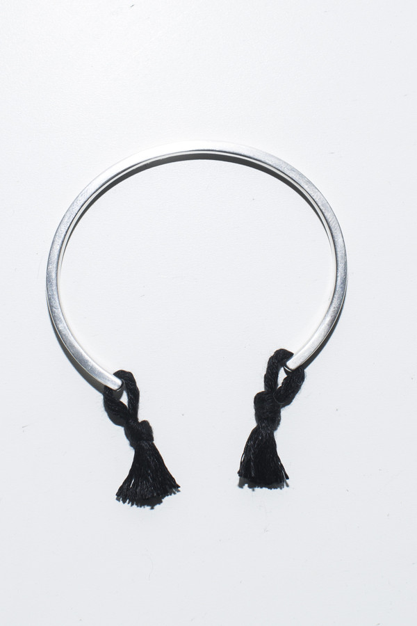Nikolai Rose Black Knotted Cuff