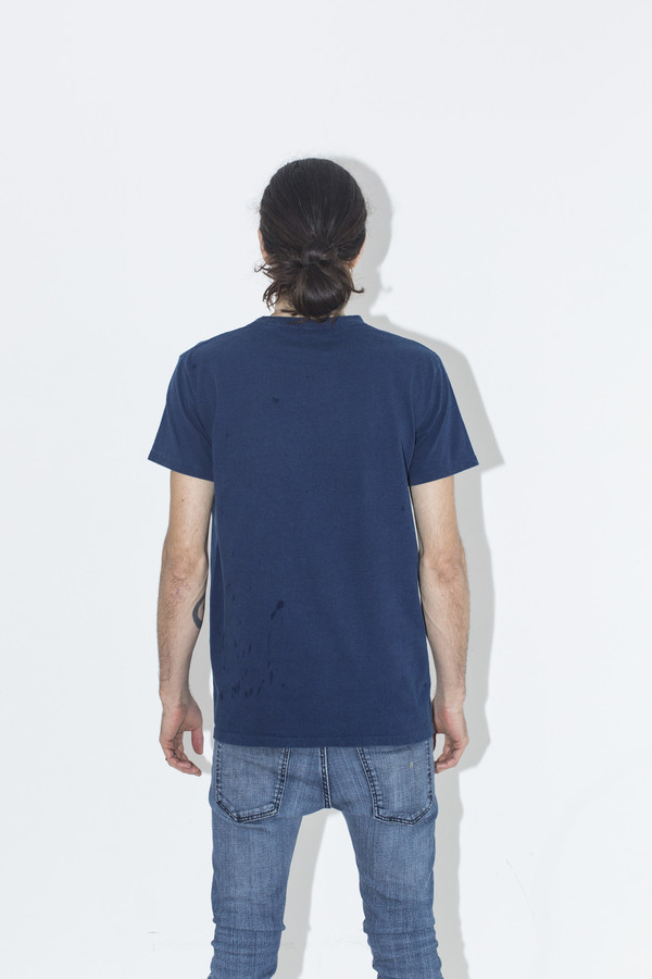 Men's Velva Sheen Indigo Tee