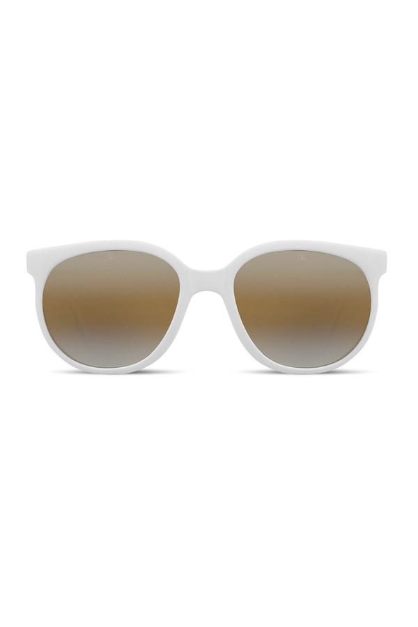 Unisex Vuarnet Classic White Sunglasses