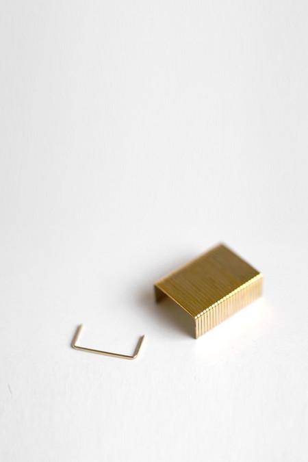 Oooms 14k Gold Staples