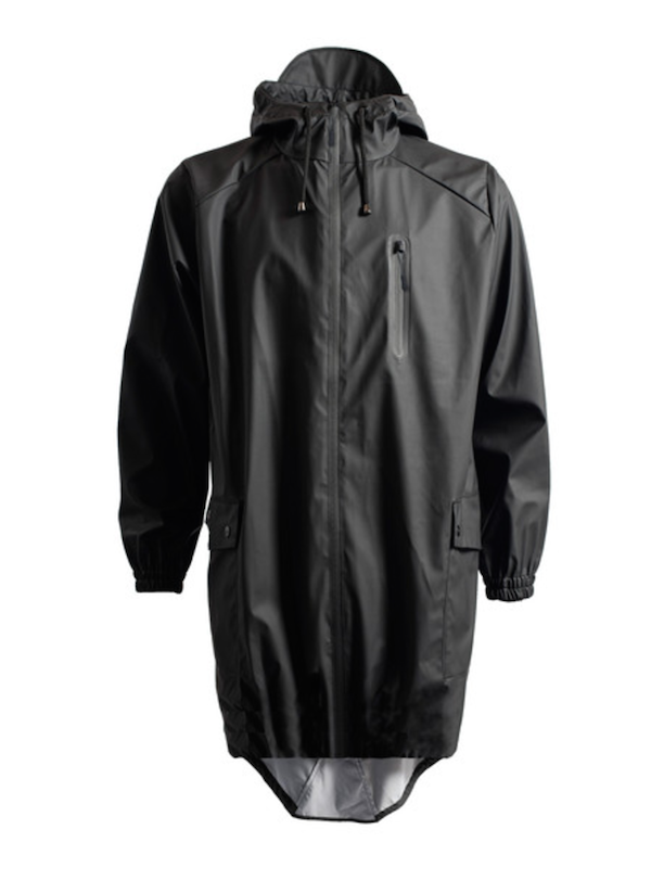 Rains - Parka Coat in Black