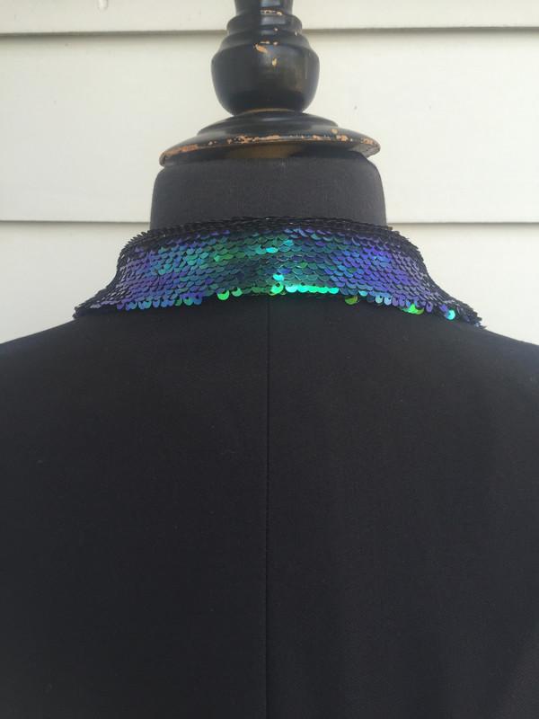 Any Old Iron Mini Peacock Jacket