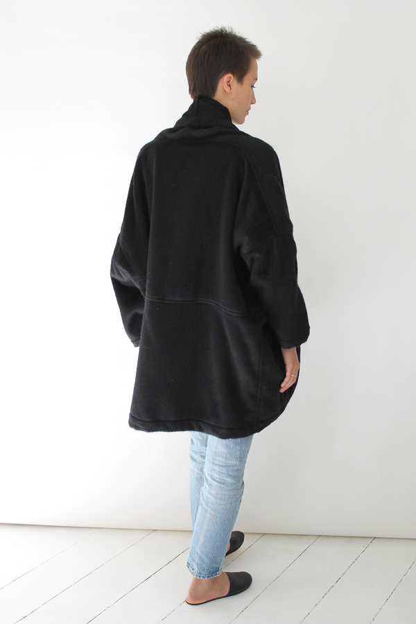 DELPHINE antwerp coat | black