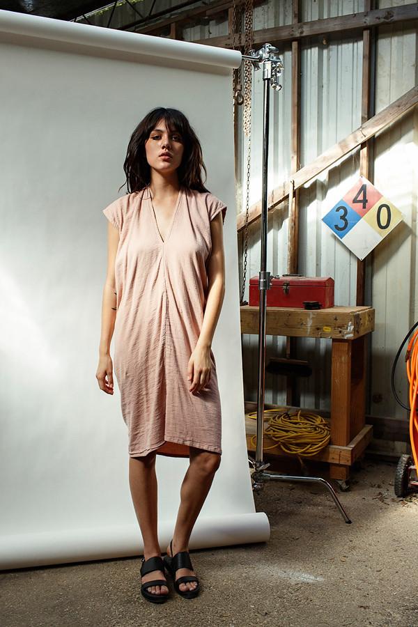 Miranda Bennett Clay Everyday Dress | Double Gauze