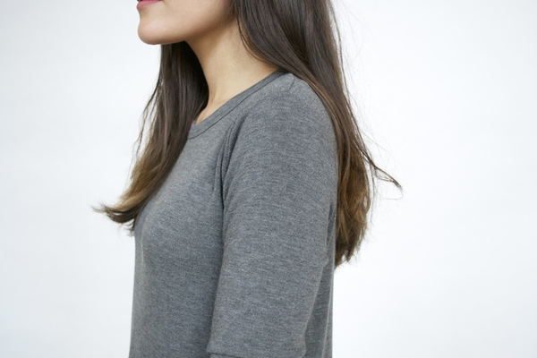 LNA Niia Ribbed L/S Shirt