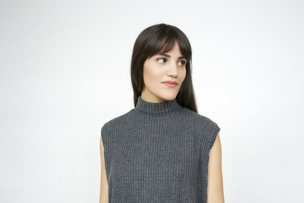 LNA Nessy Sleeveless Turtleneck