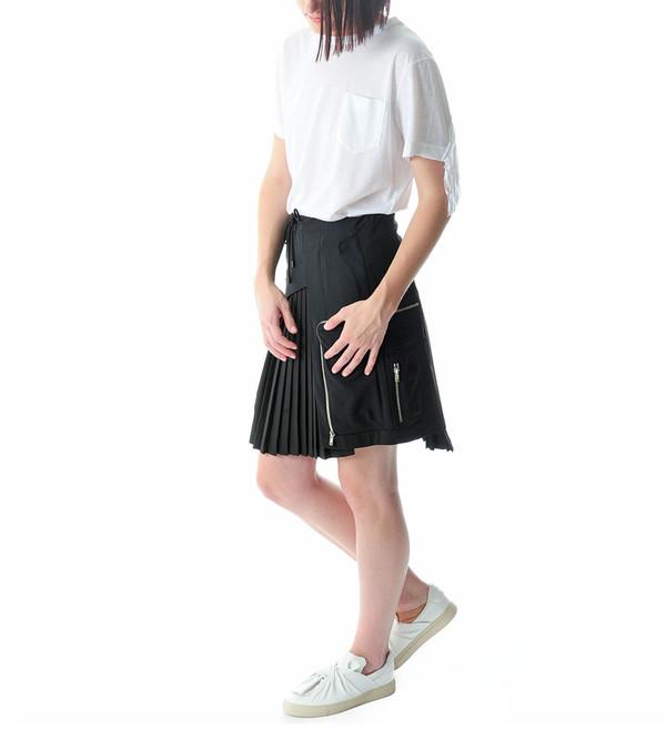 Tim Coppens Black Cargo Skirt